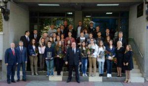 Свечана седница Скупштине града Јагодина - заједничка фотографија са добитницима признања - 17.10.2017. год.