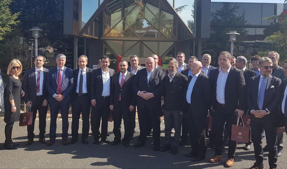 Privredno politička delegacija grada Jagodina obišla tri fabrike u industrijskoj zoni Čerkezkoy u Turskoj