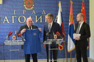Амбасадор Русије Александар Чепурин посетио Јагодину - 20.04.2018. године - слика 2