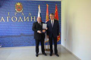 Амбасадор Русије Александар Чепурин посетио Јагодину - 20.04.2018. године - слика 3