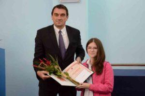 Живота Старчевић - начелник школске управе - додела диплома - 17.10.2017. год.