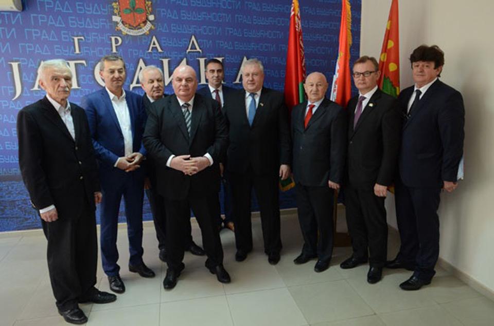 Ambasador Republike Belorusije Valerij Briljov u poseti Skupštini Grada Jagodina - 29.03.2018. godine - slika 1
