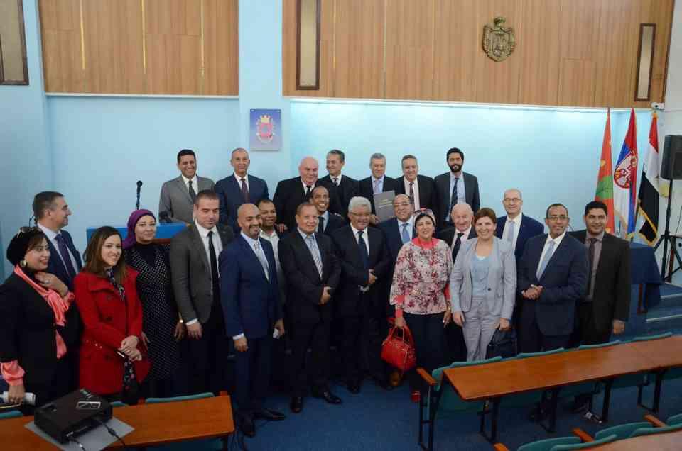 Delegacija iz Egipta u poseti skupštini Grada Jagodina